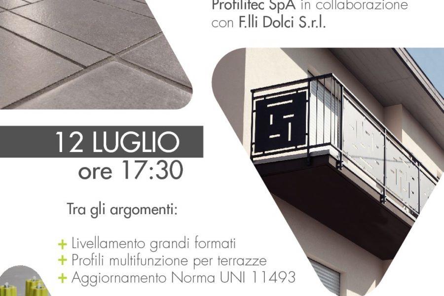 Posa Piastrelle Roma – F.LLI Dolci srl presenta l'Accademy prodotto Profilitech
